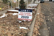 A sign of the times. Help! Save 2020!