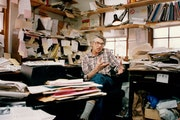 Al Milgrom in his office in 1994  Photo by Tom Sweeney, Minneapolis Star Tribune