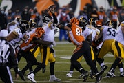 Steelers quarterback Ben Roethlisberger was under pressure Monday against the Bengals.