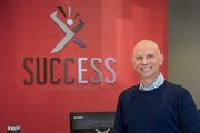 """Success Computer Consulting's profit was down this year, owner Erik Thorsell said. """"But it was right to give all the profits this year to employee"""