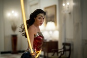 """Gal Gadot fights the forces of big hair and shoulder pads in """"Wonder Woman 1984."""""""
