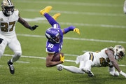 Vikings receiver Justin Jefferson returned to his home state to play the Saints on Friday.