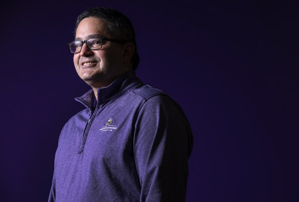 Chief Operating Officer Andrew Miller joined the Vikings in August 2019, in time to face COVID and racial justice issues.