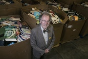 Books for Africa founder Tom Warth.