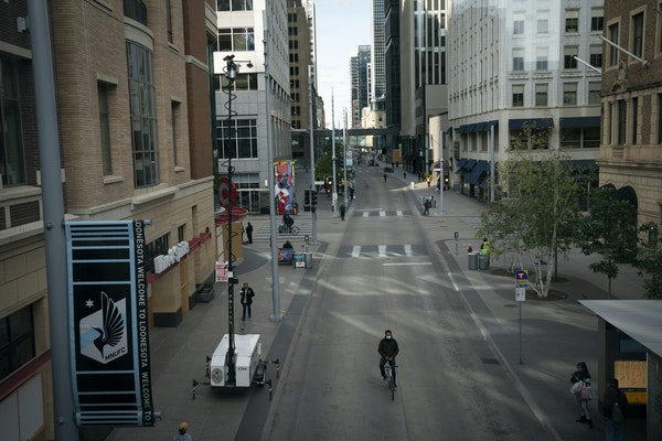Pandemic jobless benefits have been extended by both the state and federal governments. The hospitality industry downtown, including Nicollet Mall, ha