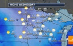 Snow will taper off Tuesday Night, otherwise a quiet end to 2020