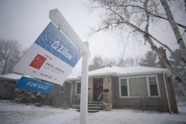 A house on Vernon Ave. S. in St. Louis Park is listed through the combined efforts of Zillow and Kris Lindahl Real Estate.   ]  JEFF WHEELER • jeff.