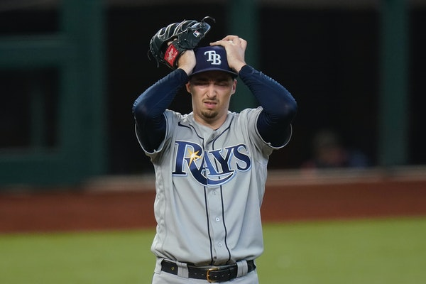 Starting pitcher Blake Snell is reportedly being traded from Tampa Bay to San Diego.