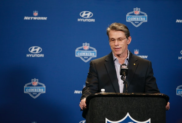 Minnesota Vikings general manager Rick Spielman will have a big decision to make.