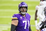 Vikings left tackle Riley Reiff during the Dec. 20 game against the Bears.