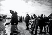 """The death of husband and wife Jesse """"Jay"""" and Cheryl Taken Alive delivered a major blow to the clan and the Standing Rock Tribe. They were buried"""