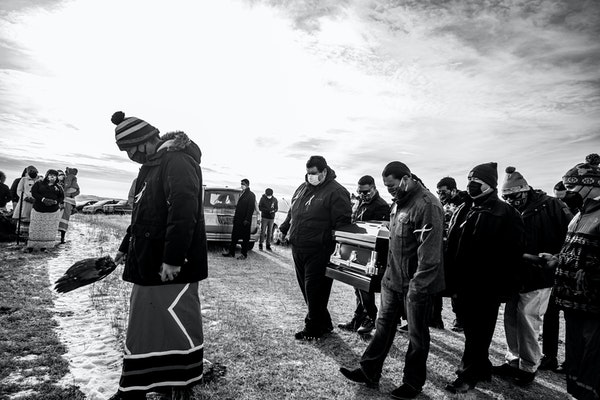 "The death of husband and wife Jesse ""Jay"" and Cheryl Taken Alive delivered a major blow to the clan and the Standing Rock Tribe. They were buried"
