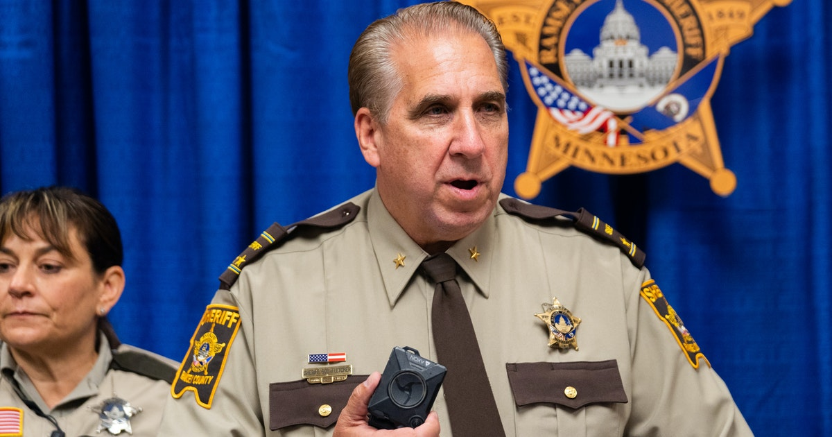 Ramsey County officials tell sheriff he needs their signature for fair duties