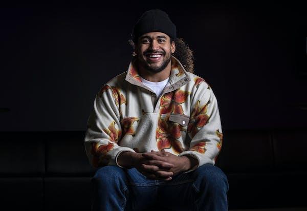 Star Tribune Sportsperson of the Year 2020 Minnesota Vikings linebacker Eric Kendricks.