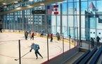 The Wild will be practicing at Tria Rink in St. Paul for the first time since July.