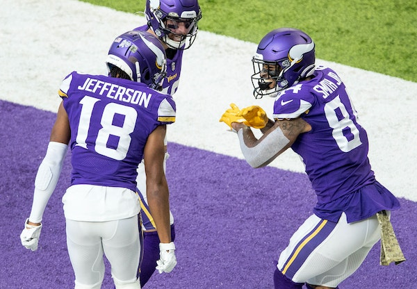 Justin Jefferson, Adam Thielen and Irv Smith Jr. had reasons to dance the last time the Vikings played the Lions.