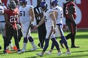 Vikings kicker Dan Bailey
