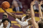 Marcus Carr,  the Gophers point guard, benefited from siting out a season as a transfer.