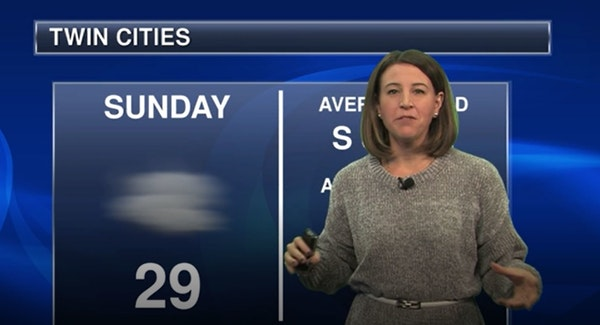 Evening forecast: Low of 19; freezing fog might return to areas