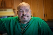 Richard Lewis, a Minneapolis veteran, has seen his monthly food stamp allocation plunge from $120 to $15 without notice. Since October, he's been re