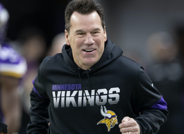 The Vikings finished fourth in total offense this season with Gary Kubiak calling the plays.
