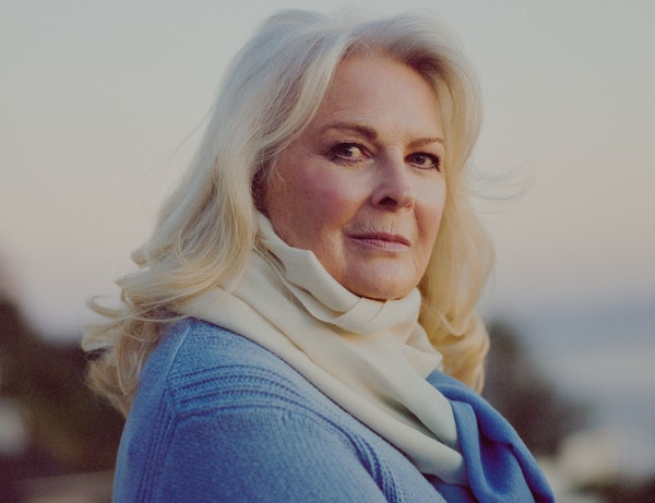"""For me, being funny is my joy,"" Candice Bergen says."