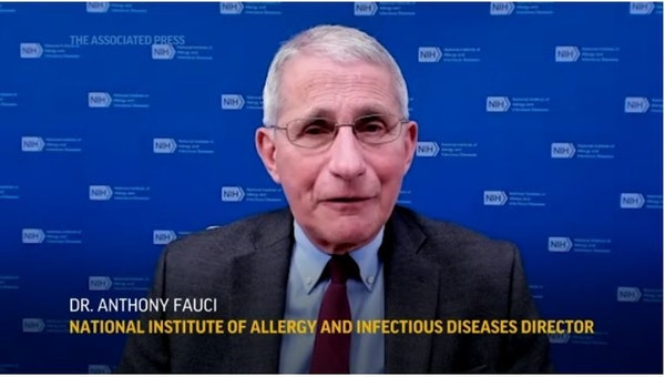 Fauci: U.S. could soon give a million vaccinations a day