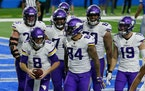 Vikings' Kirk Cousins named NFC Offensive Player of Week for four touchdowns in Detroit