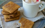 Graham crackers can be made with white whole wheat flour or a mix of all-purpose and whole wheat flours. King Arthur Flour