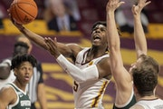 Guard Marcus Carr has been the Gophers' go-to scorer this season.