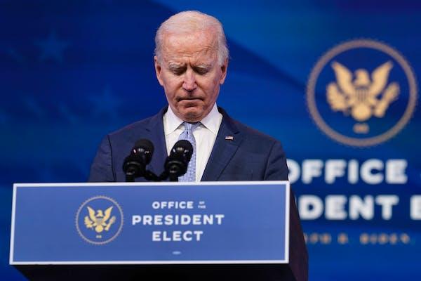Biden: Scenes at Capitol do not reflect America