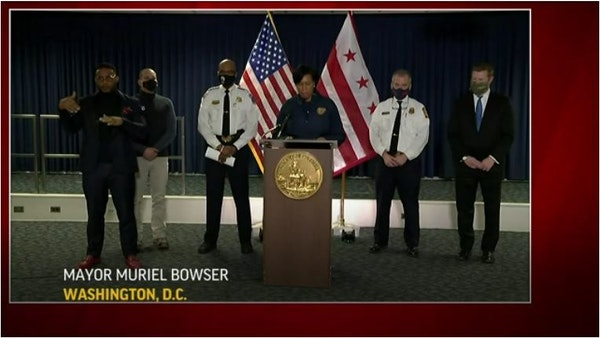 DC police: Protesters deployed chemical irritants