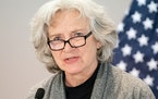 Health Commissioner Jan Malcolm said the state's distribution of coronavirus vaccines is dependent on allocations from the federal government. The s