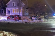 One person died in a crash invovling a stolen vehicle early Thursday in St. Paul.
