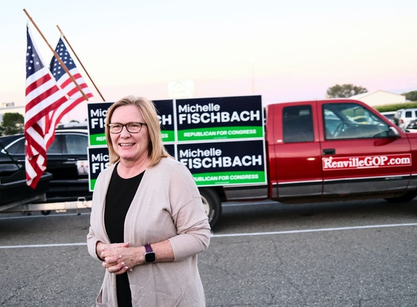 U.S. Rep. Michelle Fischbach and fellow GOP Rep. Jim Hagedorn sided with Republicans who voted to block certification of President-elect Joe Biden's