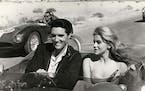 """Elvis Presley and Ann-Margret in  """"Viva Las Vegas."""""""