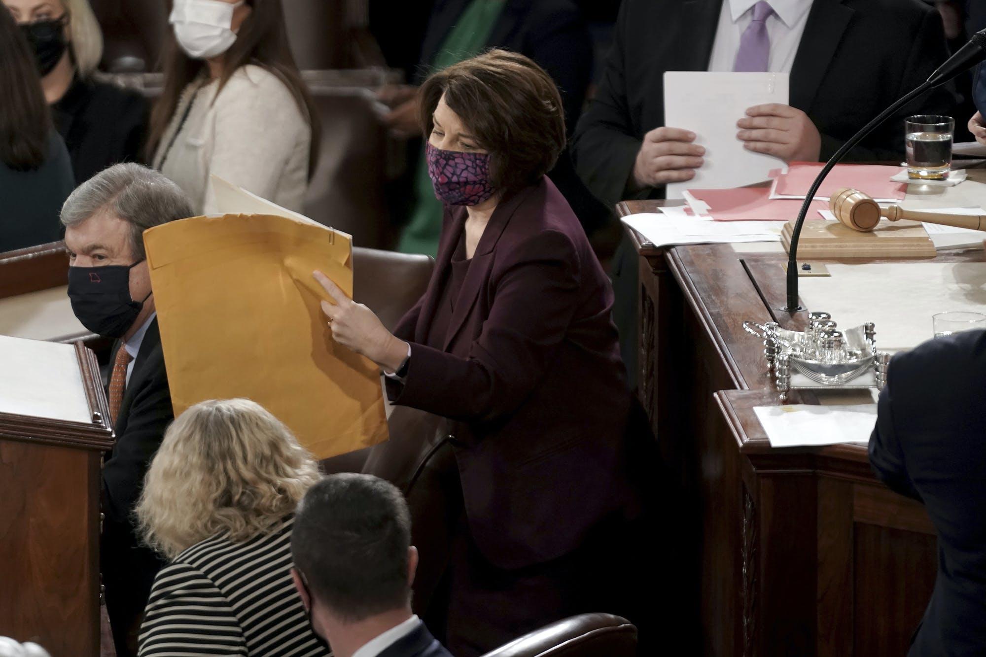 Sen. Amy Klobuchar says Capitol breach ...