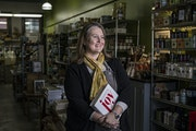 Laurie Crowell, who's celebrating 25 years in the food business, most of them as the owner of the Golden Fig, which has been championing local and a