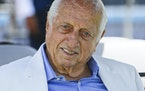 Los Angeles Dodgers former manager and Hall of Famer Tommy Lasorda in 2018.