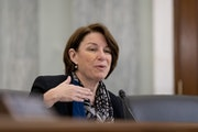 Sen. Amy Klobuchar, D-Minn., shown in December in Washington.