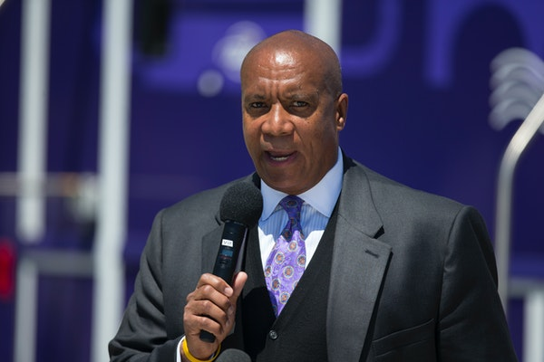 Kevin Warren in 2019. The former Vikings executive has come under fire during his tenure as Big Ten commissioner.