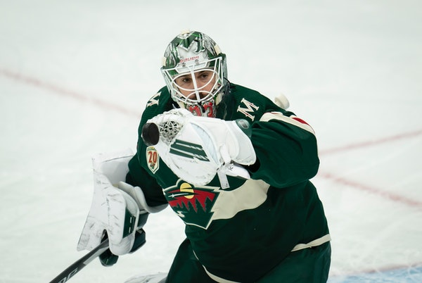 Cam Talbot is on his fourth NHL team in three seasons — Edmonton, Philadelphia, Calgary and now the Wild.