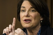 """""""This isn't the country that they love. This isn't patriotism — this is the opposite."""" Sen. Amy Klobuchar"""