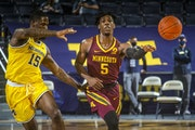 Marcus Carr suggests lack of fans and atmosphere have made it tough to play on the road, but he said the Gophers have to adjust.