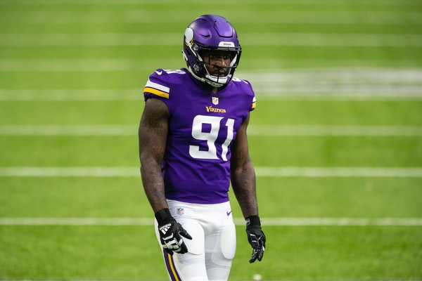 Despite playing in only six games for the Vikings before getting traded to Baltimore, Yannick Ngakoue led the Vikings in sacks for the entire season w
