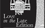 Love in the Late Edition by Reg Henry