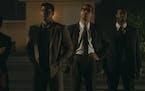 """Leslie Odom Jr., Eli Goree, Kingsley Ben-Adir and Aldis Hodge star in """"One Night in Miami."""""""