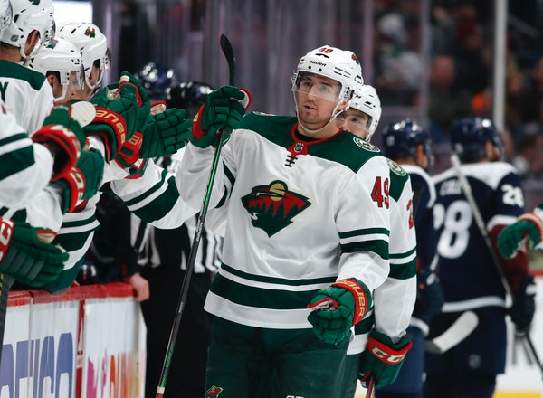 Wild center Victor Rask is hoping for a breakthrough season, after tallying seven goals and nine assists in 66 games for the team.
