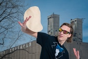 Nick Diesslin tossed some practice pizzas.       ] GLEN STUBBE • glen.stubbe@startribune.com   Wednesday, January 6, 2021       Nick Diesslin's 15