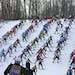 The Birkie ski races draw thousand of skiers every February to Hayward, Wis.